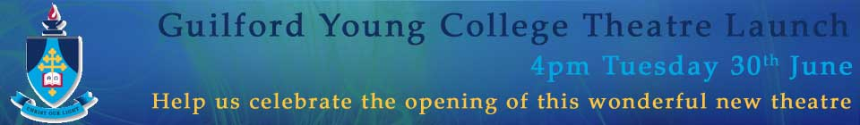 2015 Guilford Young College Theatre Launch