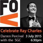 Festival of Voices Ray Charles concert with Darren Percival